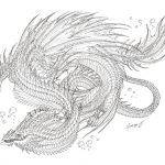 Realistic Dragon Coloring Page Inspirational Sea Dragon Coloring Pages