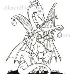 Realistic Dragon Coloring Page Inspiring Baby Dragon Coloring Pages Willpower Shrek Dragon Coloring Pages