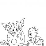 Realistic Dragon Coloring Page Marvelous 35 Free Printable Dragon Coloring Pages