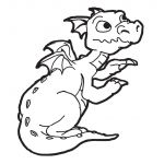 Realistic Dragon Coloring Page Pretty Coloring Pages Real Dragons Awesome New Zentangle Coloring Pages