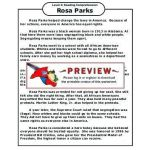 Rosa Parks Printable Awesome Free Printable Us History Worksheets Grade Black for 2nd