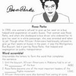 Rosa Parks Printable Inspiring 101 Best Happy Rosa Parks Day 12 1 1955 Images In 2016