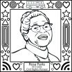 Rosa Parks Printable Marvelous Civil Rights Coloring Pages