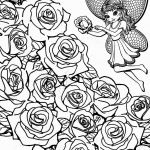 Rose Coloring Pages Creative New Flower Coloring Book Pages