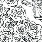 Rose Coloring Pages Inspiration Flower Border Coloring Pages – Arianeealterson