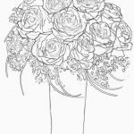 Rose Coloring Pages Pretty Rose Flower Shop