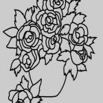 Rose Flower Coloring Pages Brilliant Fall to Color Printable Kanta