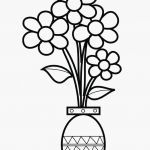Rose Flower Coloring Pages Elegant Floral Coloring Pages Luxury Best Vases Flower Vase Coloring Page