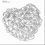 Rose Flower Coloring Pages Inspiration Elegant Flower Heart Coloring Pages – Lovespells