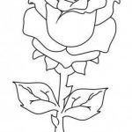 Rose Flower Coloring Pages Inspiration Printable Valentines Day Rose Coloring Pages Printable Coloring