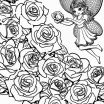 Rose Flower Coloring Pretty New Flower Coloring Book Pages
