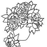 Roses Coloring Pages for Adults Inspirational Beautiful Garden Flowers Coloring Pages – Kursknews