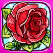 Roses Colouring Sheets Pretty Flowers Colouring Pages Red Rose Mandala Fun Games by Roman Safronov