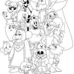 Sans Coloring Page Beautiful 21 Best Undertale Coloring Pages Images In 2018