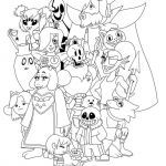 Sans Coloring Page Best Undertale Coloring Pages Printable Projects to Try