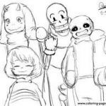 Sans Coloring Page Elegant 21 Best Undertale Coloring Pages Images In 2018