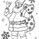 Santa Claus Coloring Best Santa Claus and Reindeer Coloring Pages