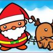 Santa Claus Coloring Best Santa Claus Drawing Mascot Creation Kit Christmas Character