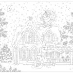 Santa Claus Coloring Books Amazing House Coloring Pages for Adults