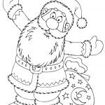 Santa Claus Coloring Books Brilliant Christmas Coloring Pages Božić Bojanke Za Djecu Free Printables