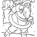 Santa Claus Coloring Books Brilliant Free Printable Christmas Coloring Pages for Kids