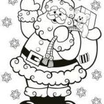 Santa Claus Coloring Inspired Awesome Santa Claus Mask Coloring Pages – Doiteasy