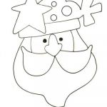 Santa Claus Coloring Pages Best Free Printable Santa Claus Coloring Page Christmas Winter