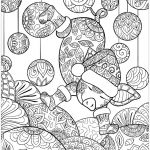 Santa Claus Coloring Pages Creative Christmas Zentangle Santa Claus for Adult Vector Image Adult