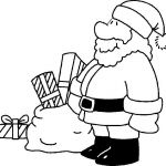 Santa Claus Coloring Pages Creative Free Printable Christmas Coloring Pages for Kids