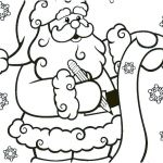 Santa Claus Coloring Pages Excellent Santa and Reindeer Coloring Pages – topolcanykings