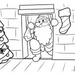 Santa Claus Coloring Pages Inspiration Free Printable Christmas Coloring Pages for Kids
