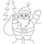 Santa Claus Coloring Pages Inspired Santa Claus Hat Coloring Page Beautiful Funny Puppy Wearing