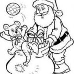 Santa Claus Pictures to Print Best Santa Claus and Reindeer Coloring Pages