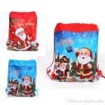 Santa Claus Pictures to Print Brilliant Santa Claus Drawstring Bags 34x27cm Non Woven Double Printed Sling