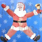 Santa Claus Pictures to Print Marvelous Pattern Dyi Articulated Santa Claus Paper Doll Printable Santa Claus