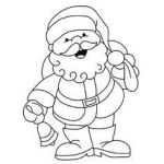 Santa Claus Pictures to Print Pretty Awesome Santa Claus Mask Coloring Pages – Doiteasy