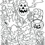 Scary Halloween Coloring Pages Creative Scary Halloween Coloring Pages Printables