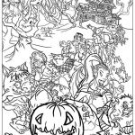 Scary Halloween Coloring Pages Excellent Coloring Fabulous Halloween Adultoloring Books Inspirations