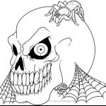 Scary Halloween Coloring Pages Inspired Scary Halloween Coloring Pages Printables