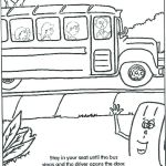 School Bus Pictures to Color Amazing Safety Coloring Sheets – Koshi Afo