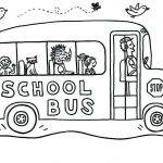 School Bus Pictures to Color Awesome School Bus Coloring Page Inspirational School Bus Coloring Pages for