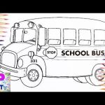School Bus Pictures to Color Brilliant Videos Matching School Buses for Kids
