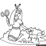 School Bus Pictures to Color Exclusive Native American Girl Coloring Pages New Indian Coloring Pages Best