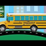 School Bus Pictures to Color Inspired Videos Matching School Buses for Kids
