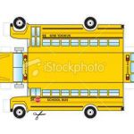 School Bus Pictures to Color Inspiring This is A School Bus that Can Be Cut Out and Glued Taped to Be E A