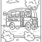 School Bus Pictures to Color Pretty 122 Best Bus Safety Images In 2019