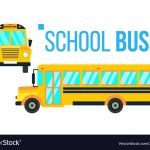 School Bus Pictures to Color Pretty School Bus top & View Vector 33