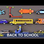 School Bus Pictures to Color Wonderful Videos Matching School Buses for Kids