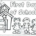 School Coloring Pages Printable Brilliant Back to School Coloring Pages at Getdrawings
