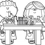 School Coloring Pages Printable Marvelous Coloring Wondrous Inspration Scientist Coloring Sheets Free